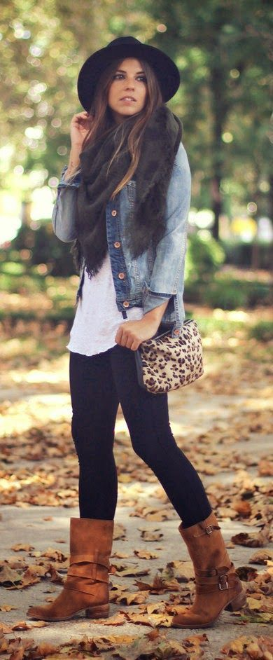 aa3252f0b4d 50 Flawless Fall Winter Outfits