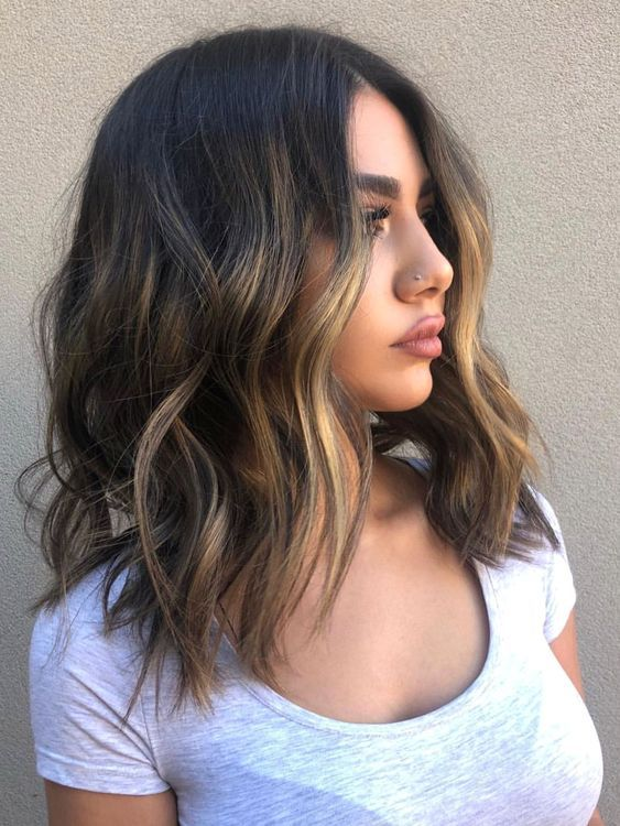 50 Best Medium Length Hairstyles 2019 | The Swag Fashion